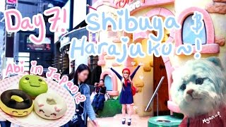 CUTE MAKE-UP, DISNEY STORE & ADULT BIBS?! | Day 7 - Shibuya & Harajuku  | Abipop in Japan 2015 ♡