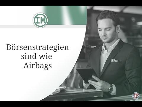 Börsenstrategien sind wie Airbags | #Video 006