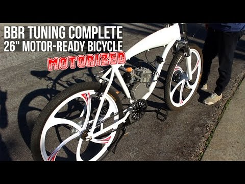 Motorizing a BBR Tuning Motorbike Frame! Perfect for any 2-Stroke Engine Kit