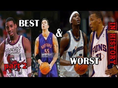 Лучшие и худшие выборы команд НБА на драфте в истории лотереи. Часть 2