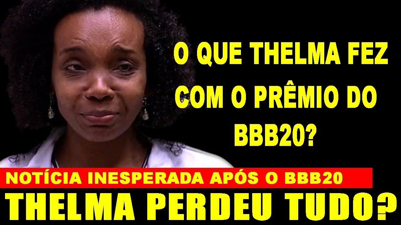 Acredite se Quiser! Chega Notícia INESPERADA de Thelma Assis, campeã do BBB20