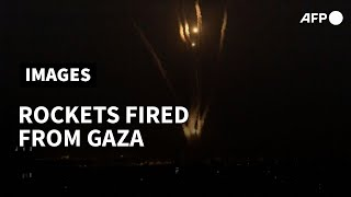 Rockets launched from Gaza towards Israel | AFP