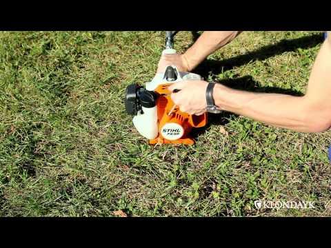 how to start a stihl fs 38 whipper snipper