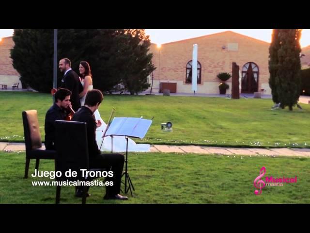 Juego de tronos - Sorpresa al novio - Casón de la Vega - Santomera BODAS MURCIA ALICANTE