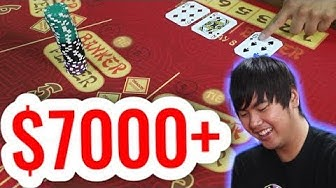 +$7,000 in BACCARAT - Live Baccarat Session