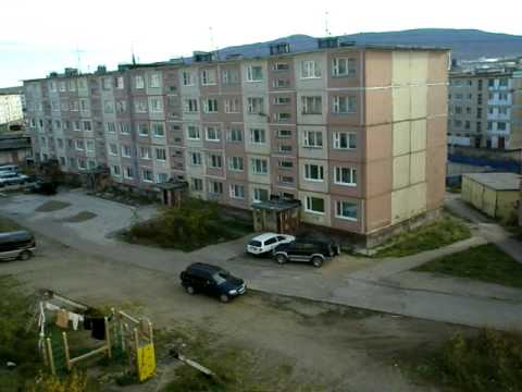 Magadan, Russia: Usual Apartments.