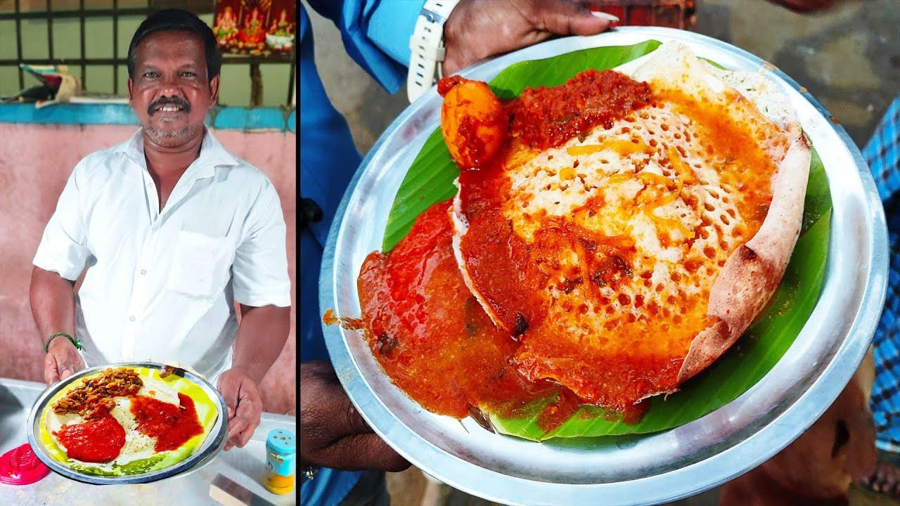 நெல்லை சுவையை சென்னையில் தரும் கறி சூப் முட்டை ஆப்ப கடை   MSF
