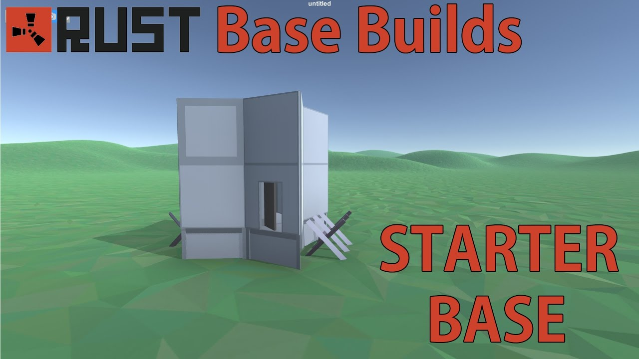 Rust solo starter base design rust base builds youtube rust solo starter base design rust base builds malvernweather Gallery