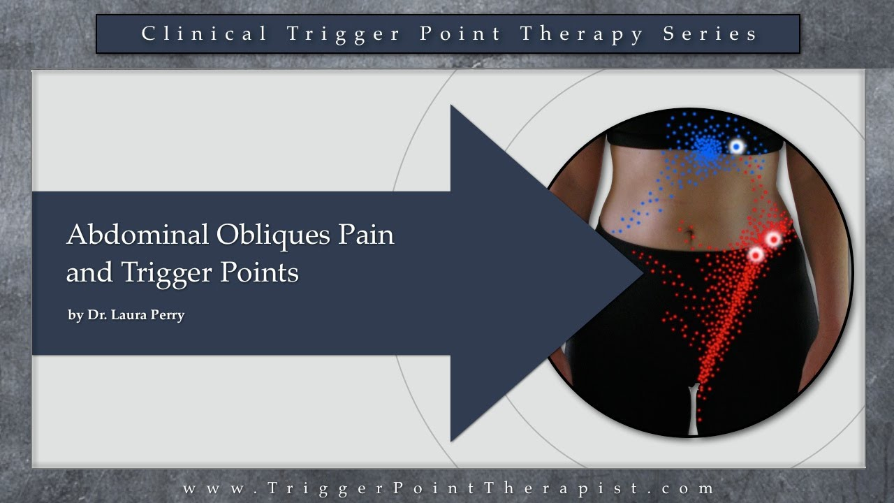 Abdominal Oblique Pain And Trigger Points Youtube