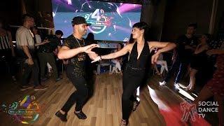 Fadi Fusion & Alicia Velasco - Salsa social dancing | 4th World Stars Salsa Festival