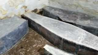 Lovat Fraser Coffins in the Crypt at Wardlaw Mausoleum