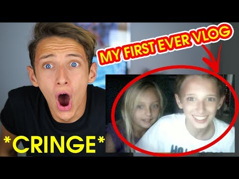 REACTING TO MY OLD VIDEOS!! *EXTREME CRINGE*