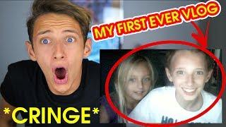 REACTING TO MY OLD VIDEOS!! *CRINGE* GeorgeMasonTV