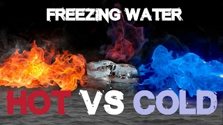 What freezes faster, Hot or Cold water?