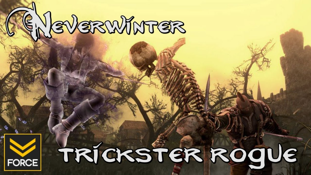 Neverwinter: Trickster Rogue in Helm's Hold (Gameplay)