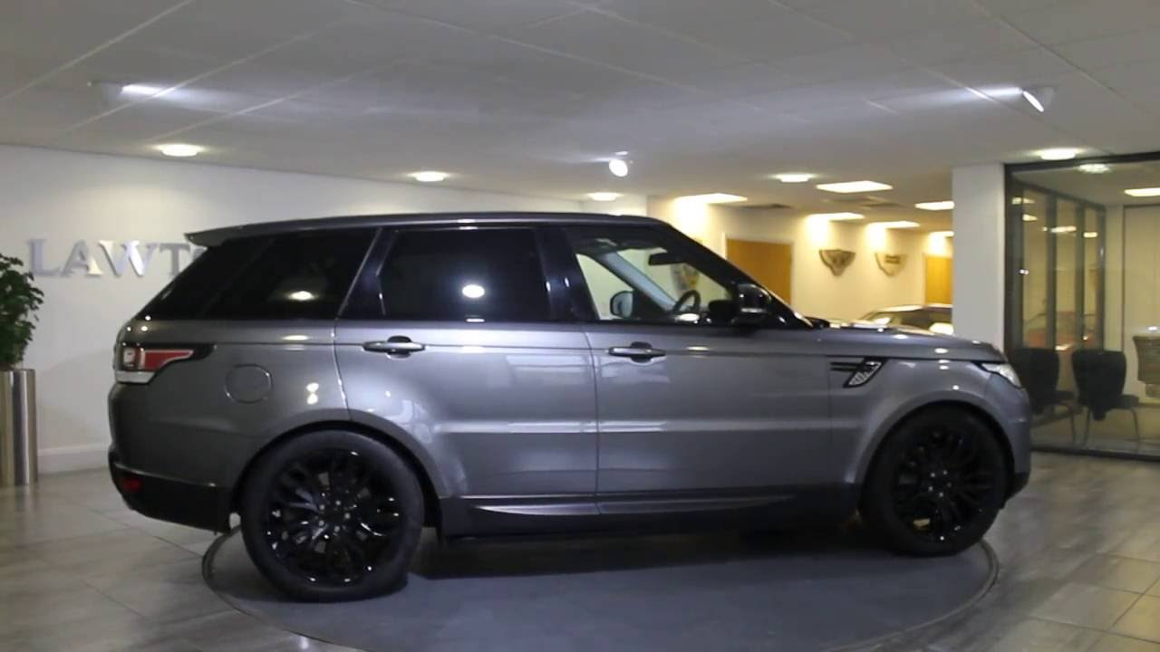 Range Rover Sport Hse Dynamic Corris Grey With Black