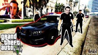 Grand Theft Auto V Police mod - Edo je opasan policajac