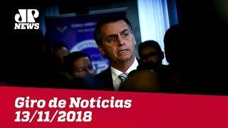 Giro de Notícias - 13/11/2018 - Primeira Edição