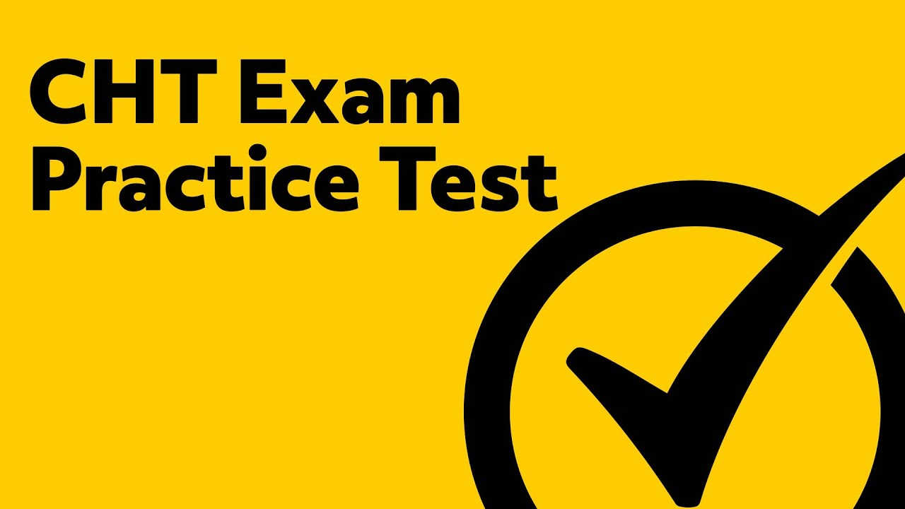 Certified Hemodialysis Technician Exam Practice Questions cht