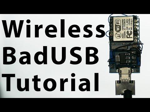 Wireless BadUSB Tutorial | esp8266