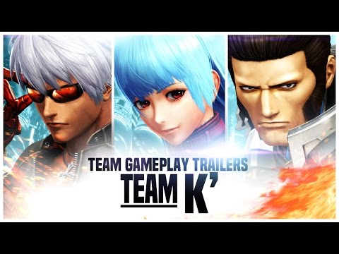 THE KING OF FIGHTERS XIV: Team K' Trailer [EU]