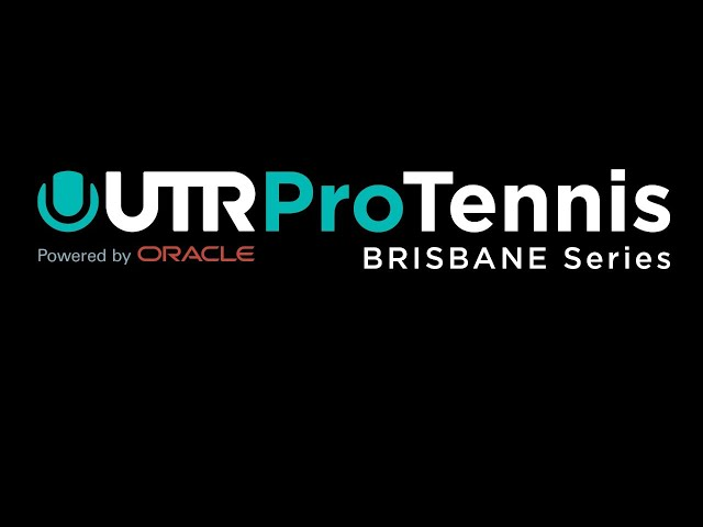 UTR Pro Tennis Series - Brisbane - Wednesday 28th October