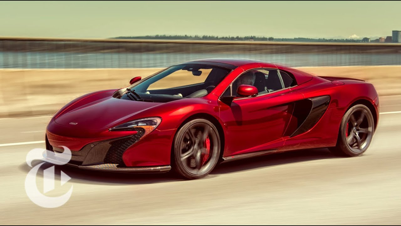 2015 McLaren 650S Spider | Driven: Car Review | The New York Times ...