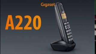 Видео обзор Gigaset A220