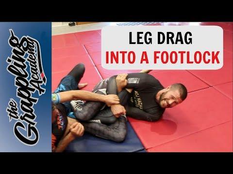 Leg Drag Into A Footlock!