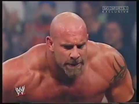 Goldberg vs. Mark Henry [2003-10-06]