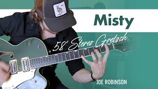 Misty • Joe Robinson • Electric Guitar Cover | 58' Stereo Gretsch