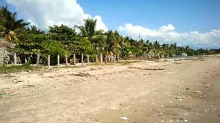 The beach at Les Cayes