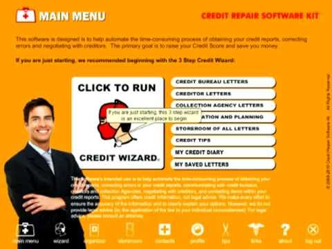 Do-it-Yourself Credit Repair Software Kit
