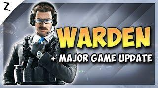 News: Warden's Major Buff! Game Update & More - Rainbow Six Siege