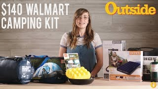 I Got a $140 Camping Kit at Walmart—Here's What I Thought