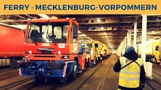 Ferry MECKLENBURG-VORPOMMERN in Trelleborg; Radio controlled engine Terberg Zagro shunting Unimat 8