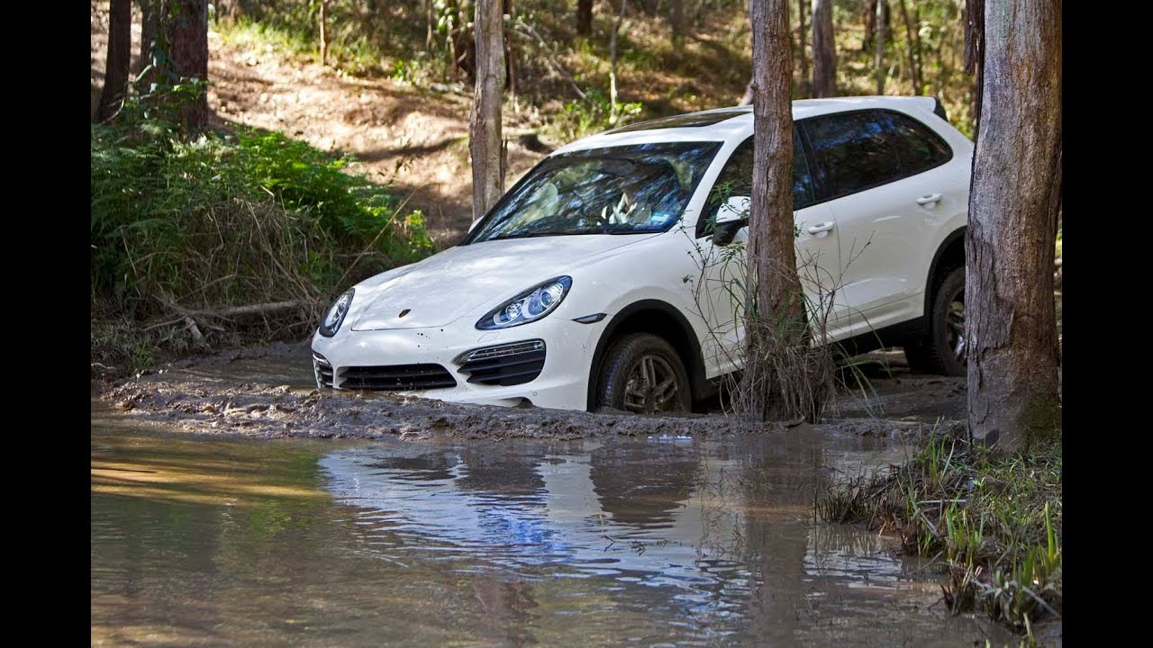 Porsche cayenne off road