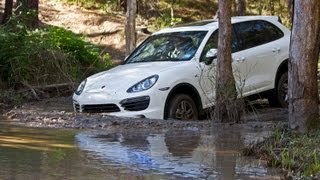 Porsche Cayenne Off-road Test - SpeedingToday