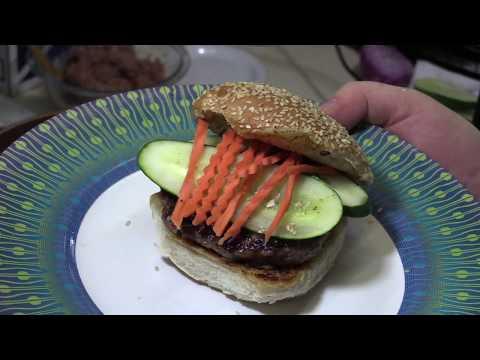 The Most Amazing Thai Hamburger Recipe