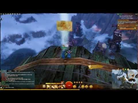 GW2 Dredgehaunt Cliffs - Black Earth Coalmine / Dociu Excavation Vista [ BGTV ][HD]