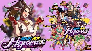 THE QUEEN OF FIGHTERS ES REVELADO!!! | SNK HEROINES TAG TEAM FRENZY