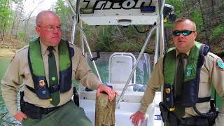 TWRA Officer Boating Accident