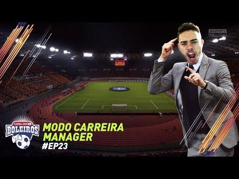 FIFA 18 | MODO CARREIRA #23 - COMEÇOU O MATA MATA DA CHAMPIONS!!