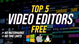 Top 5 Best FREE VIDEO EDITING Software (2021) screenshot 2