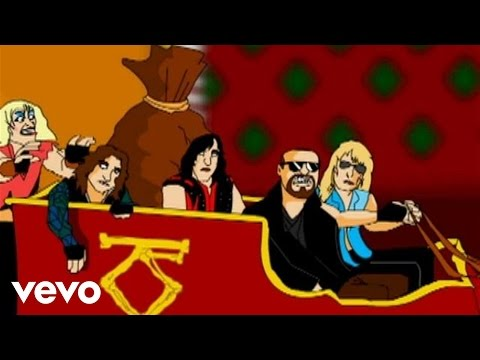 Twisted Sister – Oh Come All Ye Faithful (Animated version)