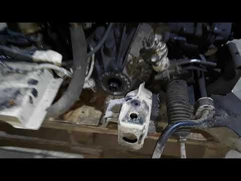 Ford Transit AWD замена сцепления часть 3