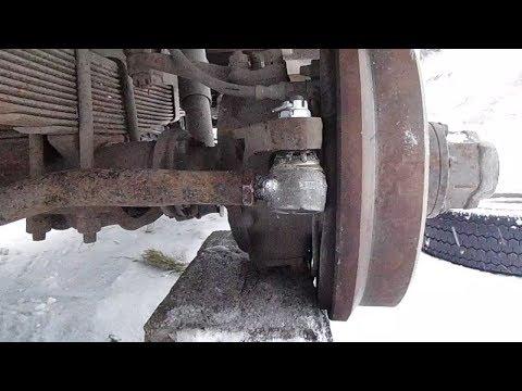 Как подтянуть рулевые наконечники на уаз буханка