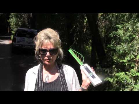 Psychotronic Weapon Detector at Bohemian Grove protest