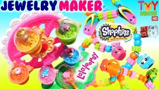 Lalaloopsy Jewelry Maker with Season 5 Shopkins Charms!