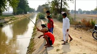 हर किसी को उनसे मछली पकड़ना सीखना चाहिए || haappy sidhu films || latest comedy movie